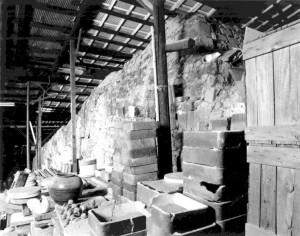 登り窯(北側)